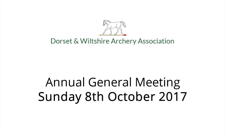 AGM for Dorset and Wiltshire Archery Association
