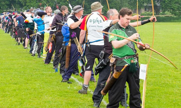 Devizes Bowmen 47th annual uk record status rose award top ten tournament