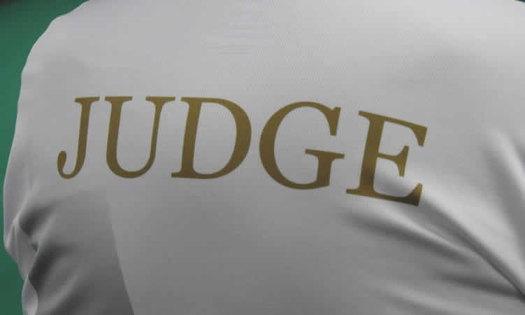 No Judges Available for Competitions on Sunday 1st March 2020